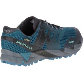 Merrell Agility Peak Flex 2 GTX Løbesko Herrer grå/petroleumsgrøn